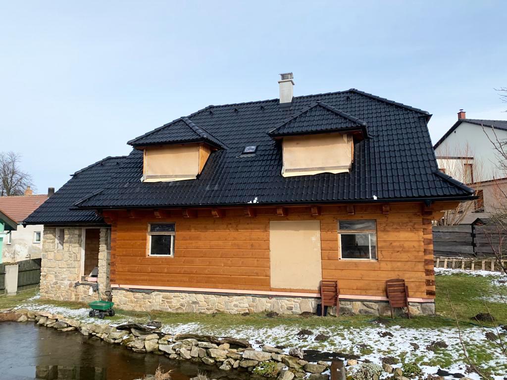 Roubený dům Opatov