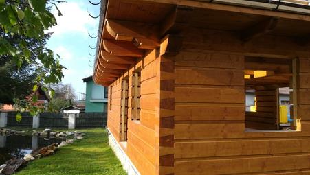 Roubené stavby - roubené domy